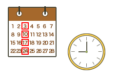 曜日・時間変動型