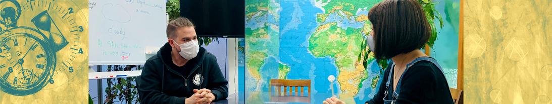 大阪ランゲージアカデミー英会話の風景